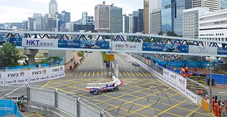 Sport in Hong Kong - The Hong Kong Central Harbourfront Circuit (pictured in 2016), where the race is held.