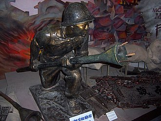 Vietnam Military History Museum - Image: Lunge AT Mine
