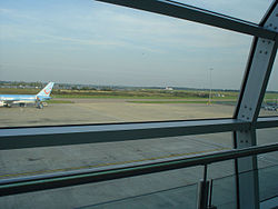 Luton Airport tarmac seen from the terminal building.jpg