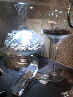 Luwak Coffee Display In An Upscale Coffee Shop.jpg