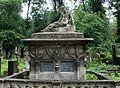 Lwów - Cmentarz Łyczakowski - Tomb od Alfred Młocki Family.jpg