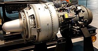 Lycoming T53 - Lycoming T53-L-1 Turboshaft Engine at Steven F. Udvar-Hazy Center in Virginia, USA.