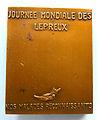 Médaille Raoul FOLLEREAU (1903-1977), Journée mondiale des lépreux. Graveur E.J. BELLONI (2).JPG