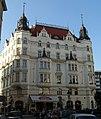 Měšťanský dům U Reduty (Josefov), Praha 1, Pařížská, Břehová 19, Josefov - pohled z Břehové ulice.JPG