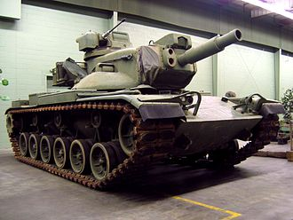MGM-51 Shillelagh - M60A2 at the American Armored Foundation Museum in Danville, Virginia, July 2006.
