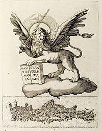 Candia im Zeichen des Markuslöwen, 1651