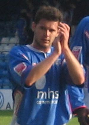 Matt Jarvis - Jarvis playing for Gillingham in 2006