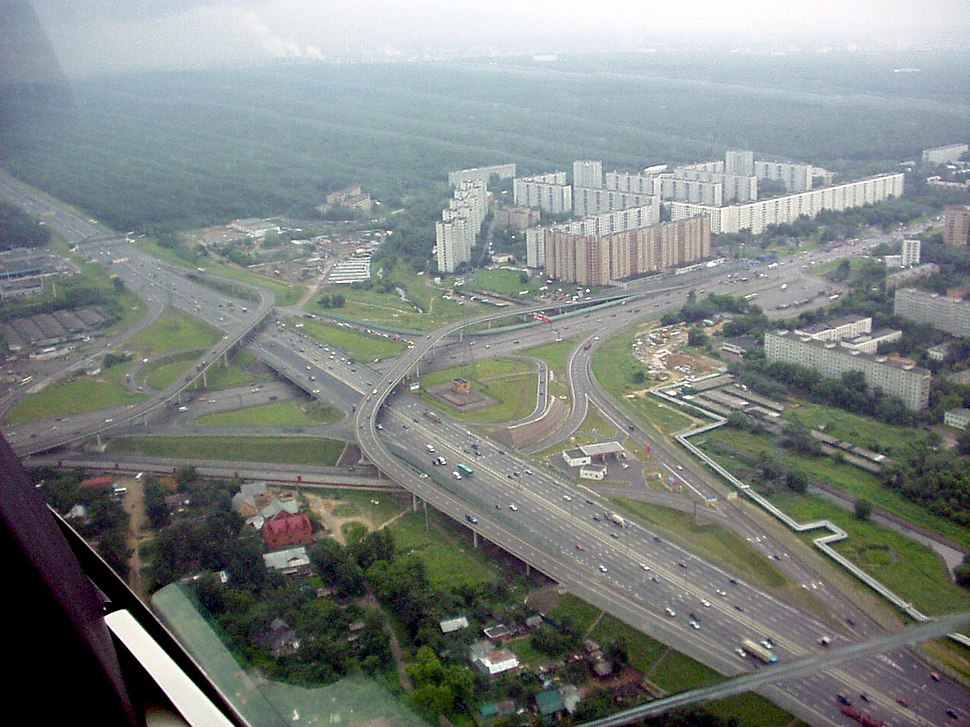 MKAD-Yaroslavka interchange