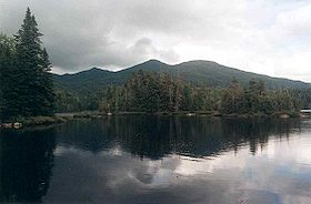 MacNaughton Mt NY seen from Duck Hole dam.jpg