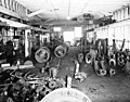 Machine Shop interior, Puget Sound Machinery Depot, Seattle, Washington, ca 1922 (INDOCC 41).jpg