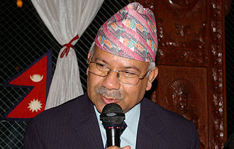 Communist Party of Nepal (Unified Marxist–Leninist) - Madhav Kumar Nepal: former party president and Prime Minister