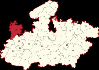 Mandsour (Lok Sabha constituency) Lok Sabha Constituency in Madhya Pradesh, India