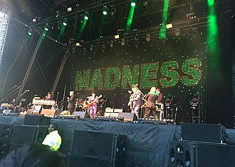 Madness (band) - Madness performing live at Wirral Live in 2017