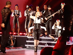 "La Isla Bonita - Madonna and her dancers performing a flamenco version of ""La Isla Bonita"" during the Rebel Heart Tour (2015–16)."