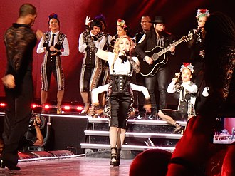"La Isla Bonita - Madonna and her dancers performing a flamenco version of ""La Isla Bonita"" during the Rebel Heart Tour (2015–2016)."