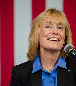 New Hampshire gubernatorial election, 2012 - Image: Maggie Hassan at Clinton Kaine rally Aug 2016 2