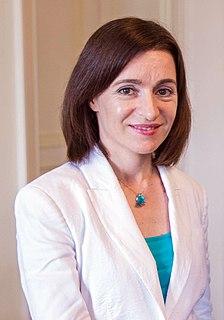 Maia Sandu Moldovan politician