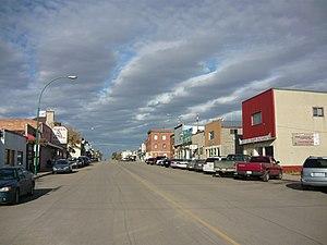 Biggar, Saskatchewan - Biggar's Main Street