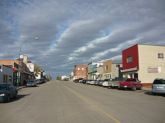 Biggar, Saskatchewan - Biggar's Main Street