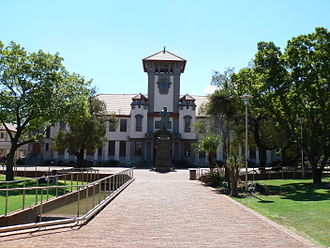 University of the Free State - The main campus building