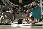 Maintaining the KC-135 (9824479064).jpg