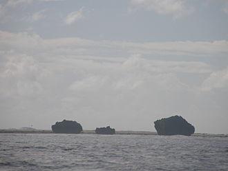 Makin (islands) - Makin Island reef