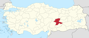 Malatya in Turkey.svg