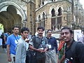 Malayalam wikipedians in wci2011 9137.JPG