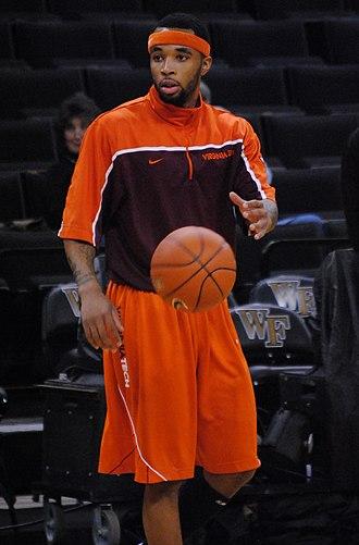 Malcolm Delaney - Delaney with Virginia Tech in 2011