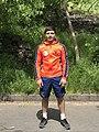 Malkhas Amoyan in The Open air gym of Hrazdan gorge (1).jpg