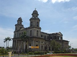 Kathedrale in Managua