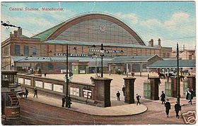 Image illustrative de l'article Gare de Manchester Central
