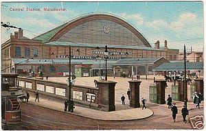 Manchester Central railway station - Image: Manchester Central Station 7