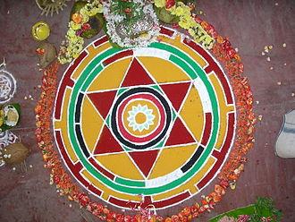 Sacred geometry - A Hindu Maṇḍala
