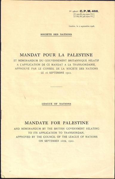 File:Mandate for Palestine and Memorandum by the British Government Relating to its Application to Transjordan WDL11572.pdf