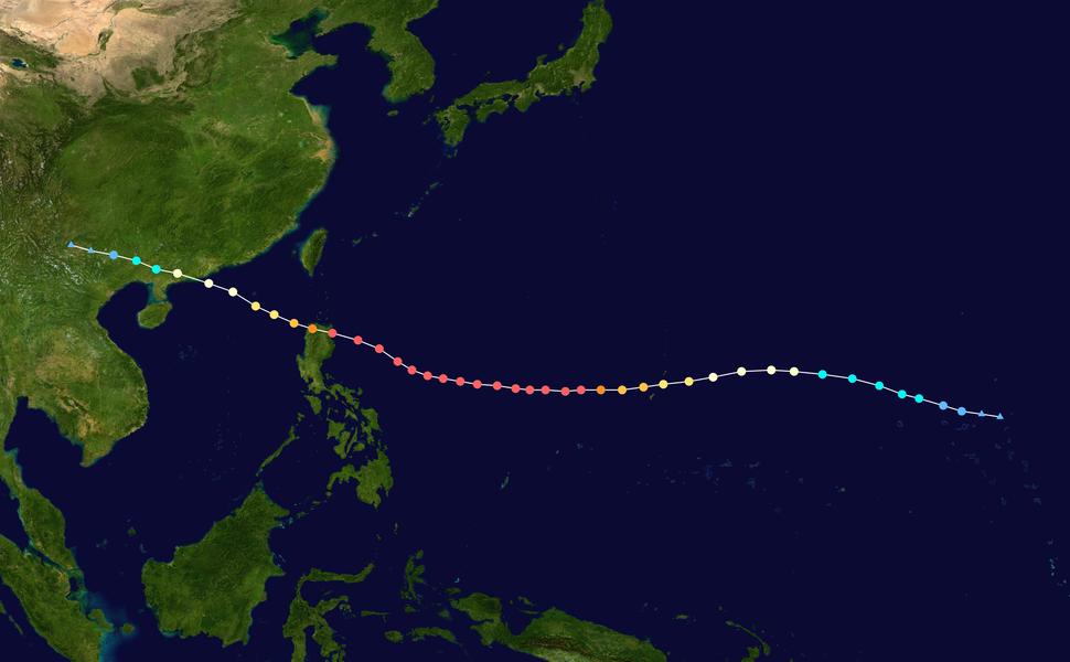 Mangkhut 2018 track