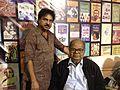 Mani Shankar Mukherjee with Poet Tapas Mahapatra 01.jpg