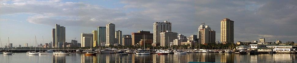 Manila skyline 2007