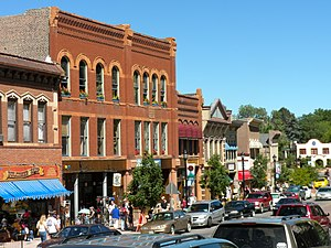 Manitou Springs Historic District - 700 block of Manitou Avenue in the Manitou Springs Historic District.