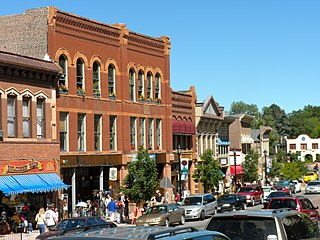 Manitou Springs Historic District United States historic place