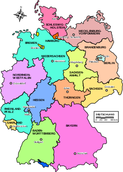 Map Germany Länder-de.svg