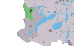 Location in the former Nijefurd municipality