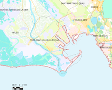 Port saint louis du rh ne wikidata - Code postal port saint louis ...