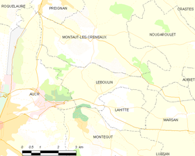 Map commune FR insee code 32207.png