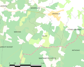 Map commune FR insee code 33513.png