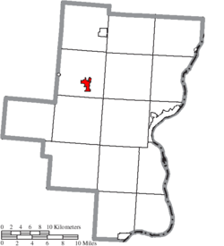 Location of Rio Grande in Gallia County