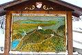 Mapa da trilha a caminho da ponte Marienbrucke - Castelo Neuschwanstain - Fussen - Alemanha (8746352744).jpg