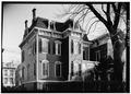 March 1960 REAR ELEVATION - Emily Smith House, 29 Remson Avenue, New Brunswick, Middlesex County, NJ HABS NJ,12-NEBRU,16-3.tif