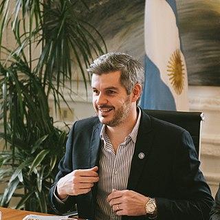 Marcos Peña Argentinian politician