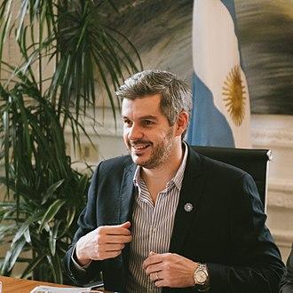Marcos Peña - Image: Marcos Peña, Jefe de Gabinete de la República Argentina